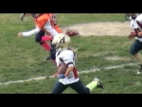 Girl Football Player, 9, Dominates Boys Program: Sam Gordon Chats About Amazing Skills in Interview