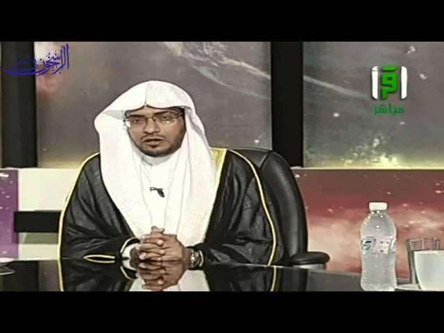 ضابط إرسال الرسائل في تويتر والواتساب وغيره - الشيخ صالح المغامسي