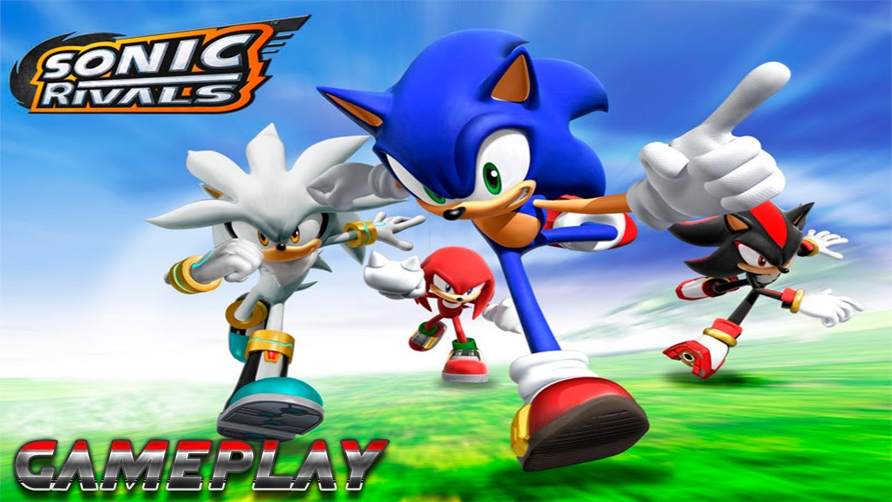 Sonic Rivals Psp Gameplay