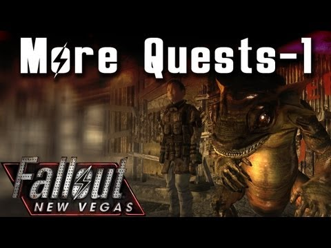 Fallout New Vegas Mods: More Quests! - Part 1