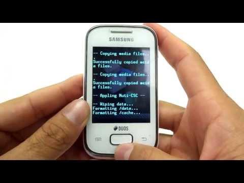 Como Formatar Galaxy Pocket S5302 / S5301 / S5300    Hard Reset. Desbloquear. G-Tech