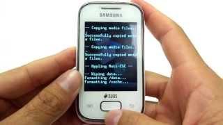 Como Formatar Galaxy Pocket S5302 / S5301 / S5300 || Hard Reset, Desbloquear. G-Tech