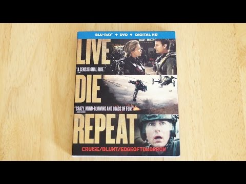 Edge of Tomorrow Blu-Ray | DVD | Digital Copy Unboxing & Review