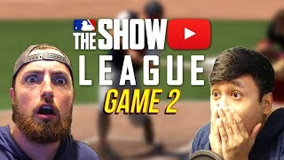 CRAZIEST GAME EVER vs. Atrin! MLB The Show 18 LEAGUE   Game 2