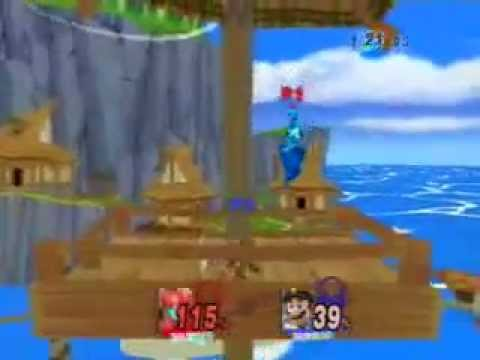 Super Smash Bros. Brawl (HACKS): Megaman VS. Primeape