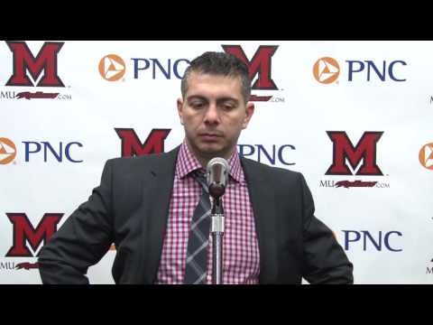 Miami RedHawks Hockey Post Game Press Conference - 3/6/2015