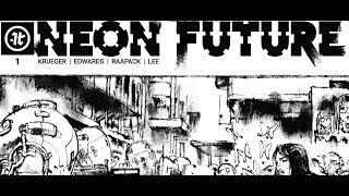 Steve Aoki's new comic book series 'Neon Future' is a techno-surrealist dystopia