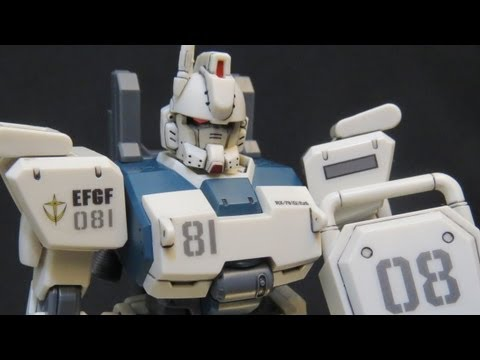 HGUC Ez8 (4: Verdict) Gundam 08th MS Team Shiro Amada plastic model review ガンプラ