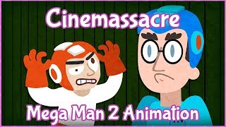 Cinemassacre animated - Mega Man 2 / EVERYTHINGS A SKULL