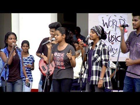 Udan Panam |  'Khwaja Mere Khwaja' rocking with SH Collage Band..! | Mazhavil Manorama