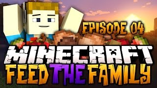 Minecraft: Feed The Family #4 - Modded Survival | I LIKE TURTLES