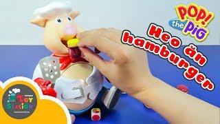 Thử thách game cho heo ăn căng bụng Pop The Pig ToyStation 228