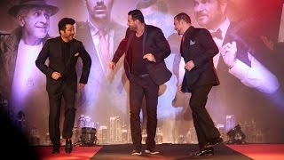 Anil Kapoor, John Abraham Dance at 'Welcome Back' Song Launch