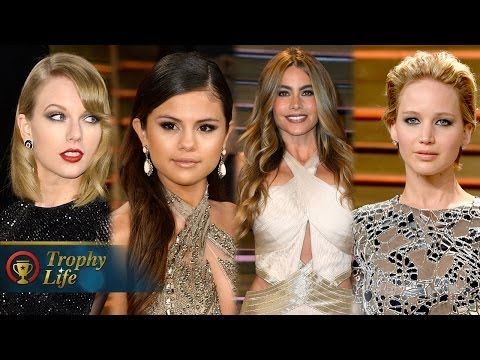 Selena Gomez VS Taylor Swift - Vanity Fair Oscars Party Best Dressed