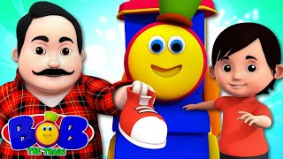 Cobbler Cobbler Mend My Shoes | Bob The Train | Songs For Kids