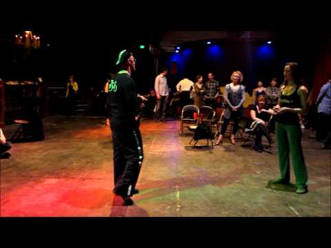 Tango Lesson: Linear and Circular Drags (Barridas)