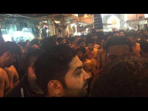 QBH CHEHLUM 2014  IRAQ NAJAF /KARBALA 14 SAFFAR SAJJAD swt BAZARAN VICH PART 2