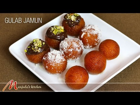 Gulab Jamun (2014) – Indian Dessert Recipe by Manjula