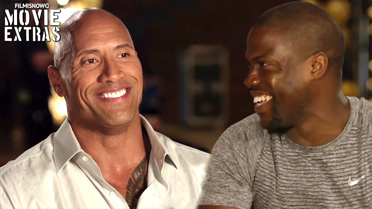 Central Intelligence 'Kevin on Dwayne & Dwayne on Kevin' Featurette (2016)