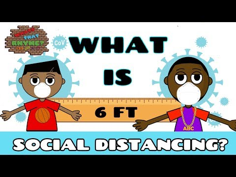 Social Distance For Children | Pandemic For Kids