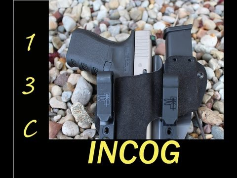 The INCOG Holster from G-Code Haley Strategic Partners AIWB. IWB
