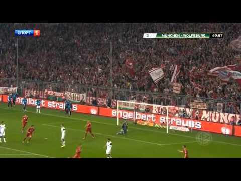 Xherdan Shaqiri vs Wolfsburg (H) 12-13 DFB Pokal by Maryan
