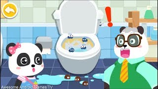 Baby Panda's House Cleaning - Kids Learning How To Celan House - Educational Videos For Kids