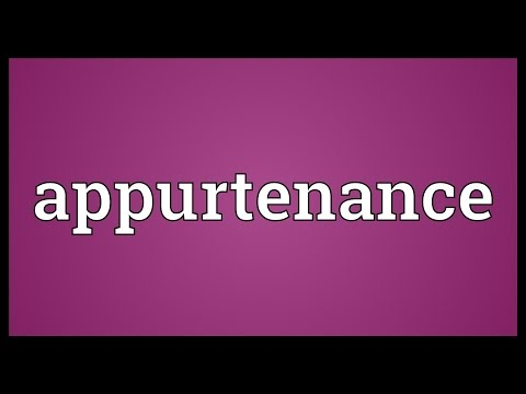 Header of appurtenance