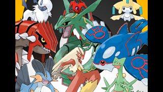 All Generation 3 Pokemon 252 - 386