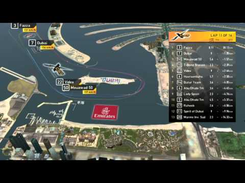 XCAT Emirates Airline GP final 2014 - Live from Dubai