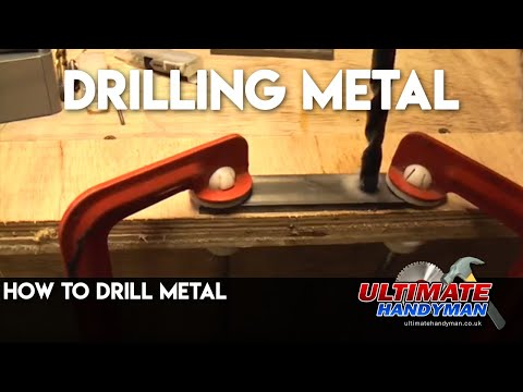 How to drill metal