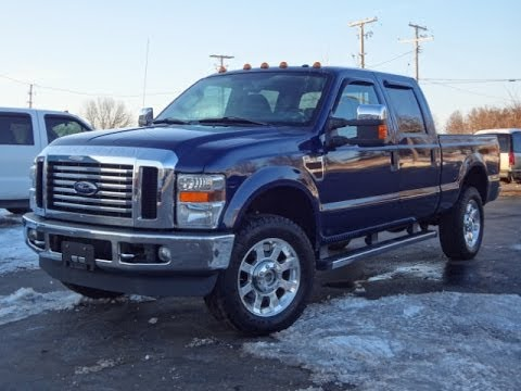 2009 ford f350 lariat 4x4 powerstroke diesel sold youtube. Black Bedroom Furniture Sets. Home Design Ideas