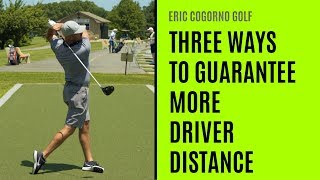 GOLF: Three Ways To Guarantee More Driver Distance