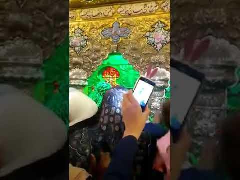 New Zarih at Janabe Sakina s.a| Holy Shrine of Sakina s.a bintul Hussain a.s 2018 | New Zarih