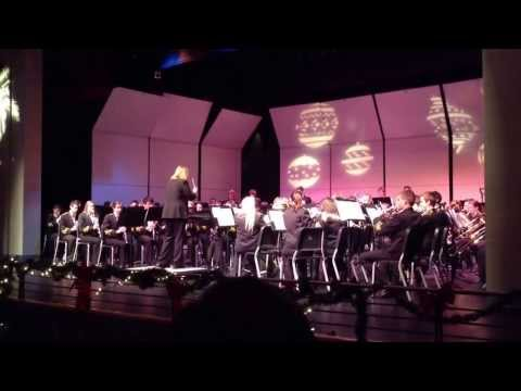 """2013 South Anchorage High School Symphonic Band doing their usual amazing work on """"Abram's Pursuit"""""""