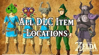 [Zelda Breath of the Wild] All NEW DLC Item Locations!