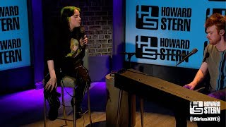 Billie Eilish Creates a Song While Live on the Stern Show