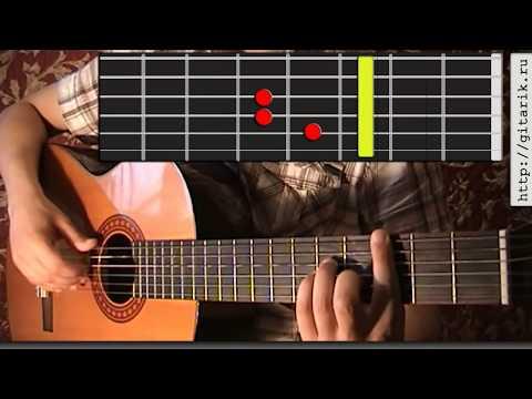 Как играть на гитаре 5'nizza - Весна