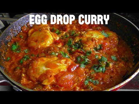 EGG DROP CURRY/ HOW TO MAKE EGG DROP CURRY/ BROKEN EGG CURRY RECIPES