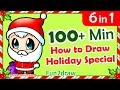 How to Draw Easy - Step by Step ★ Christmas Compilation ★