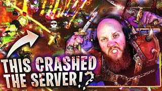 THIS WAR CRASHED THE SERVER? FT. SONII (WoW Classic)