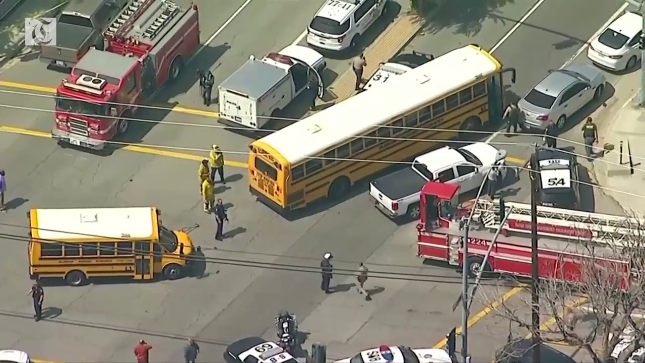 At least two dead, two wounded in San Bernardino school shooting