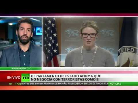 EE.UU. afirma que no negocia con terroristas como EI