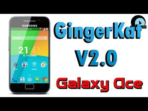 ROM GingerKat V2.0 para Galaxy Ace GT-S5830M/I/C
