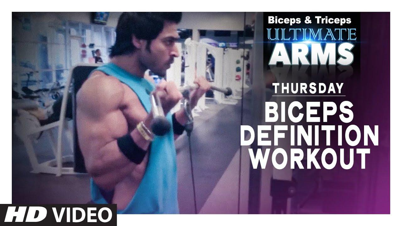Workout Calendar By Guru Mann : Thursday biceps definition workout ultimate arms guru