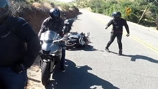 Ultimate MOTORCYCLE Crashes - 2019 #31