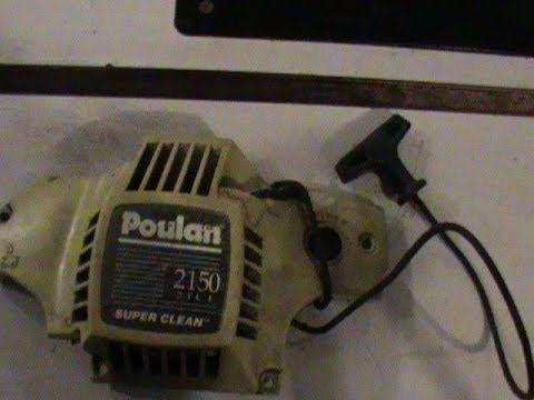 Craftsman Poulan Chainsaw Pull start Starter Recoil Repair