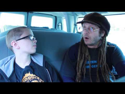 Little Punk People: Interview with Keith Morris in the OFF! van, Asbury Park NJ