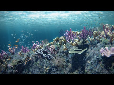 Deep Dive – Underwater scenes for TV documentaries / Marc Potocnik (renderbaron)