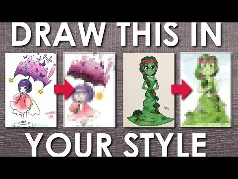 Drawing YOUR Art in MY Style - #DrawThisInYourStyle